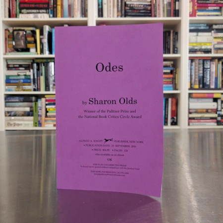 Sharon Olds Odes